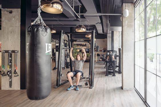 Club Xii Boutique Gym In Madrid By I Arquitectura Urdesignmag Boutique Gym Home Gym Design Boutique Gym Design