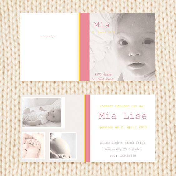 Individualisierbare Geburtskarten, Taufkarten und Adoptionskarten:  www.sky-lucy.de oder www.sky-lucy.at