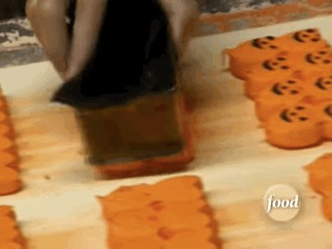 """buzzfeed: """"Mesmerizing GIFs of how your favorite Halloween candy is made. """""""