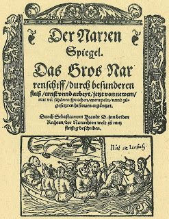"On May 10, 1521, German humanist and satirist Sebastian Brant passed away. He is best known for his book of satire entiteled 'Das Narrenschiff"" (The Ship of Fools) published in 1494 in Basel, Switzerland. It is most likely that you might have never heard of Brant nor of his famous book. Anyway, if you continue reading, you won't regret..."