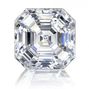 Asscher-cut diamond
