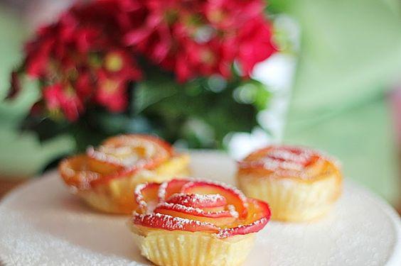 Linsenspiel : Rezept: Blätterteig-Apfel Rosen & ein etwas anderer Muttertag
