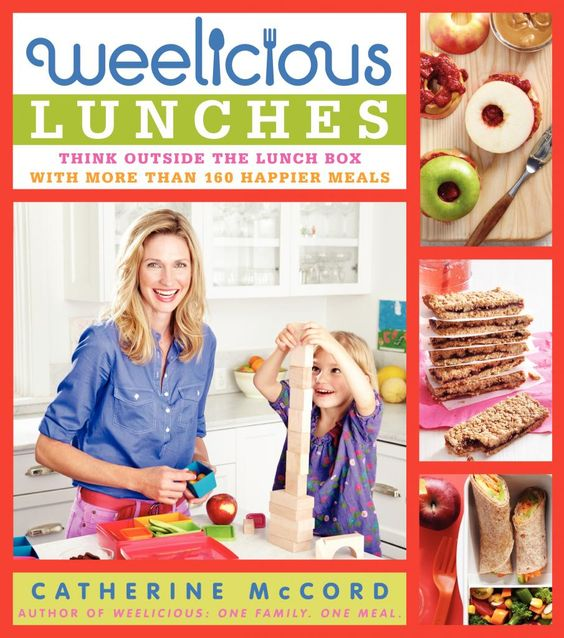 Weelicious Lunches: Just out and jam packed with 160 recipes that are practical, playful and healthy. @Catherine McCord