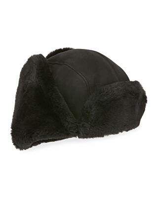 bd3dc86389661 UGG Australia Designer Men s Shearling-Lined Sheepskin Trapper Hat ...