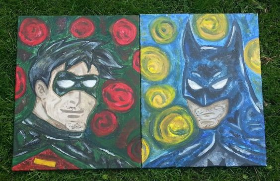 Batman and Robin by RubyOtis on Etsy