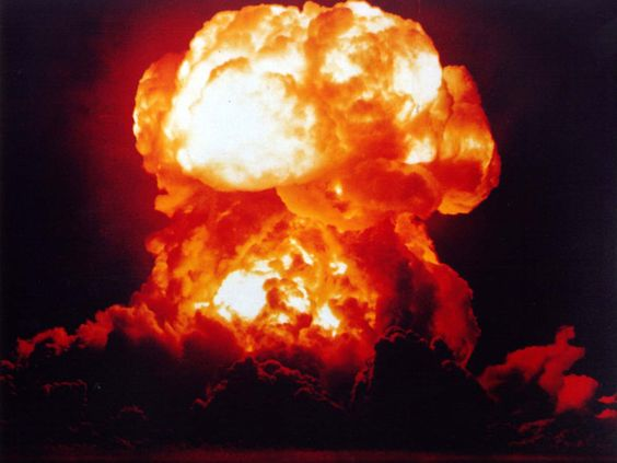 Incredible Photos of Nuclear Explosions: