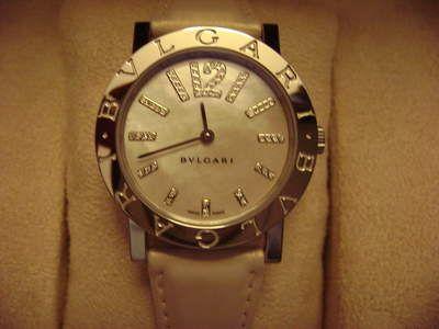 Reloj Bvlgari de mujer con diamantes
