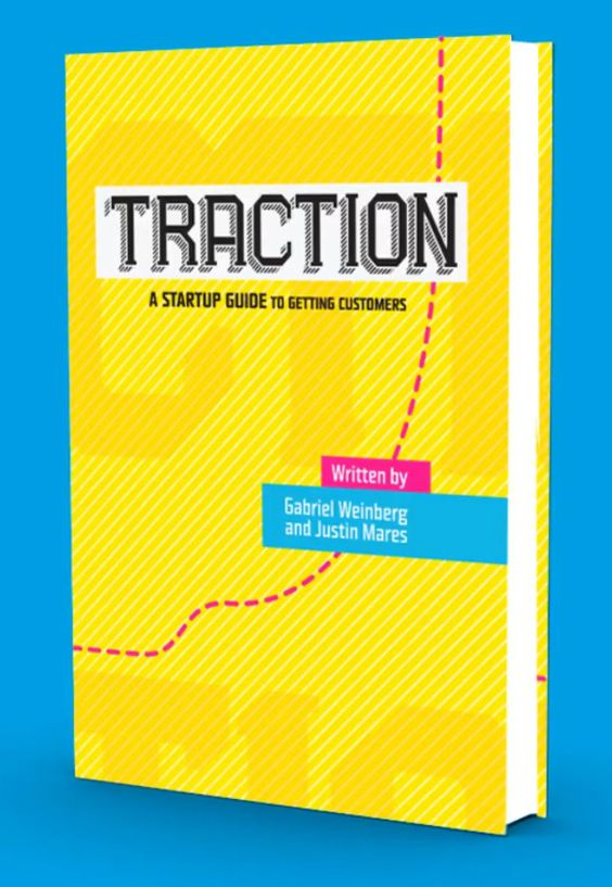 #TractionBook -  Gabriel Weinberg and Justin Mares