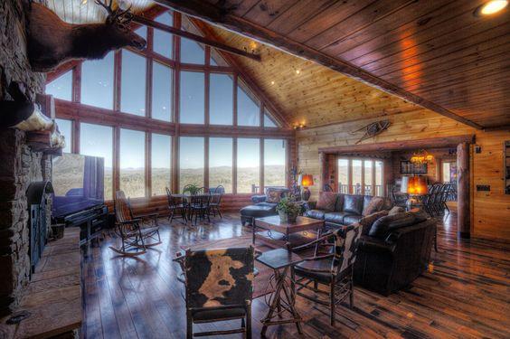 Mountain Air Retreat 4 Bedroom Blue Ridge Cabin Rental In North Ga Favorite Places Spaces