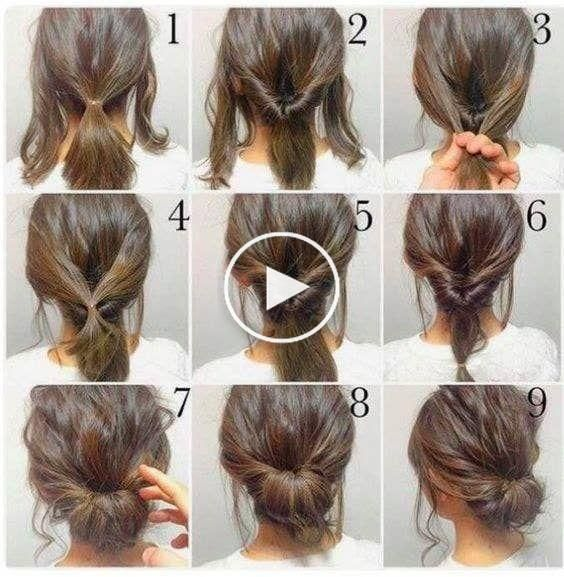 10 Easy Hairstyles To Mix It Up Coiffure Facile Coiffures Simples Longueur De Cheveux