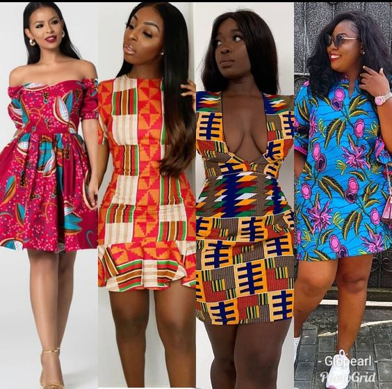Classy and Beautiful Ankara Short Gown Styles in 2019