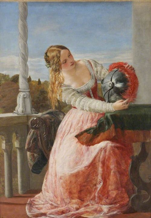 Pluming the Helmet by James Clarke Hook Collection: Worcester City Museums