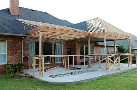 Image Result For Porch Roof Framing Details Patio Addition