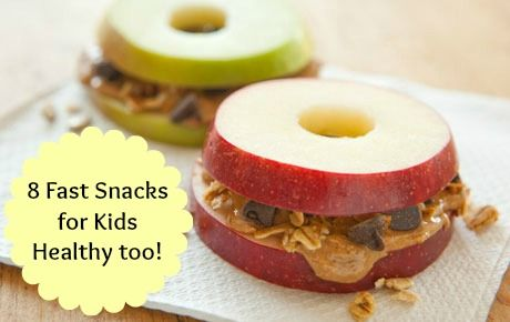 I'm always at a loss for yummy healthy snack ideas... here's 8 to help out!