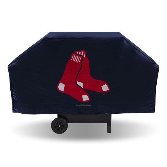 Red Sox Economy Vinyl Grill Cover