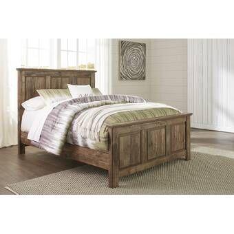 Benally Storage Platform Bed Birch Lane Panel Bed Ashley Furniture Bedroom Brown Panel Bed