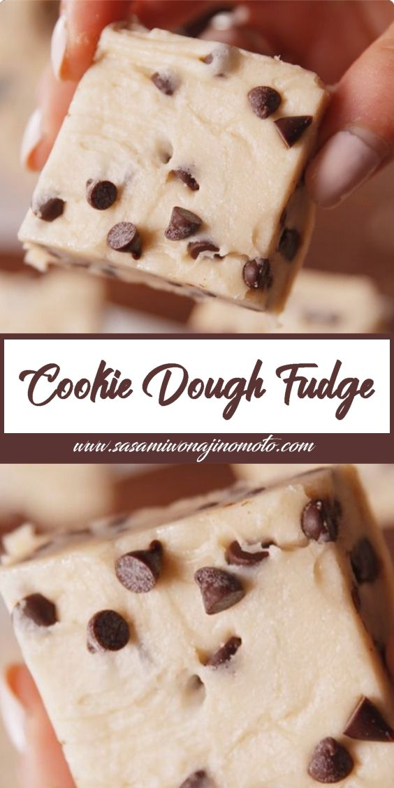 Cookie Dough Fudge Ingredients Cooking Spray 1 14 Oz Can Sweetened Condensed Milk 1 1 2 C Melted White Ch In 2020 Cookie Dough Fudge Fudge Ingredients Cookie Dough