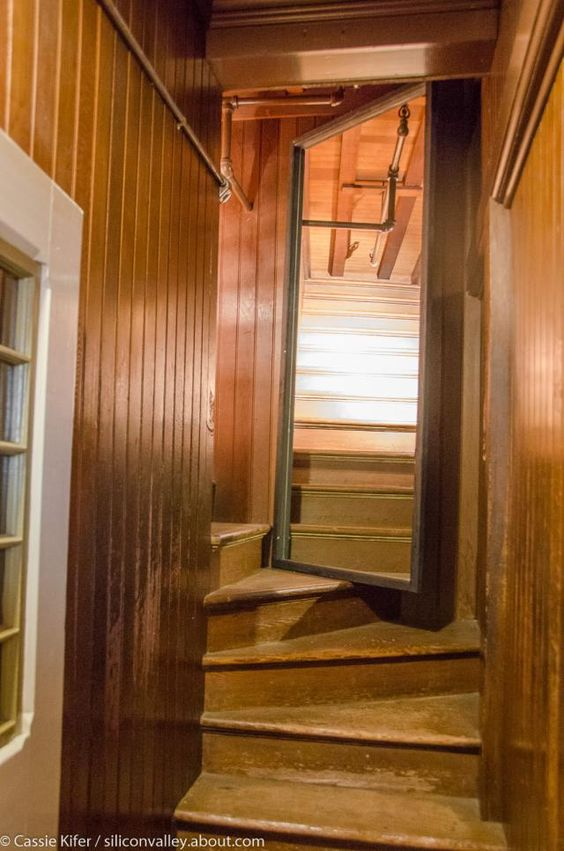 A Look Inside the Winchester Mystery House: A Hallway to Nowhere