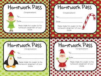 Holly Trees Homework Pass - image 5