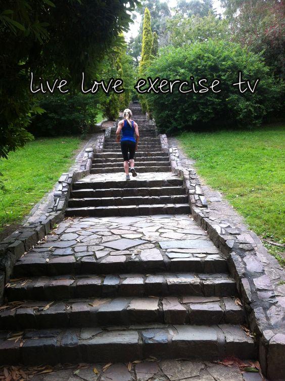 Run stair climb