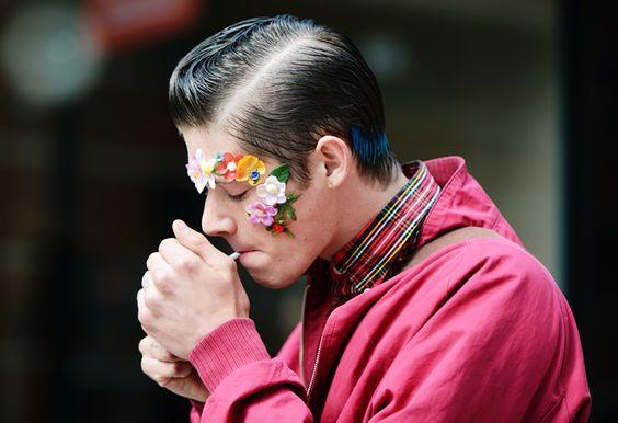 Street-Style Photographer Tommy Ton Shoots the Menswear Scene in London