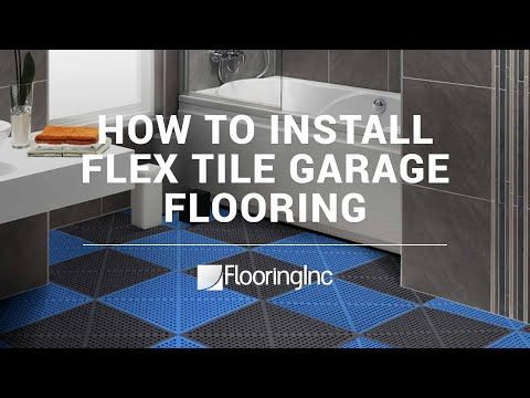 Diamond Flex Tiles With Images Tiles Garage Floor Flooring
