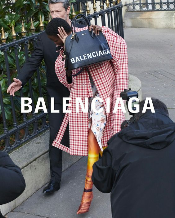 Ad Campaign: Balenciaga Spring Summer 2018 Photography by Bestimage Agency, styling by Lotta Volkova.