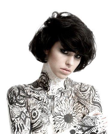 Kimbra body paint: