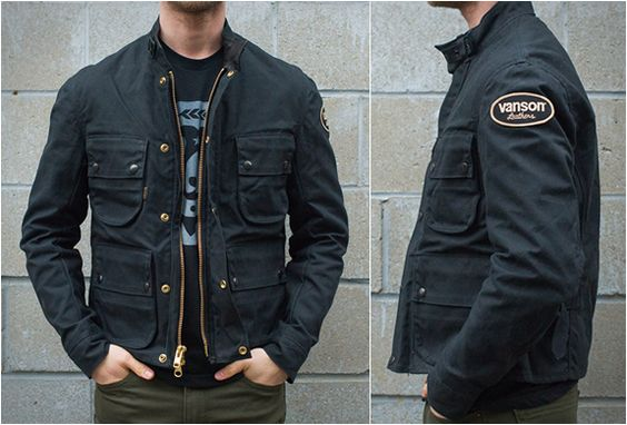 vanson motorcycle jackets
