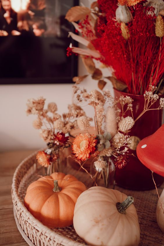otoño y madera