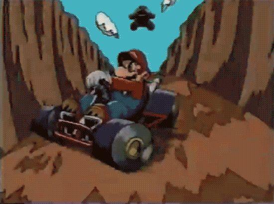 Mario Kart 64 Japanese CM (1996)
