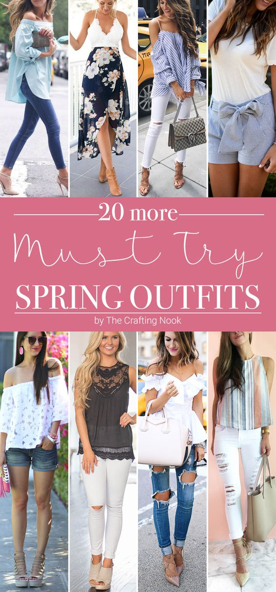 20 more must try spring outfits - todaywedate.com