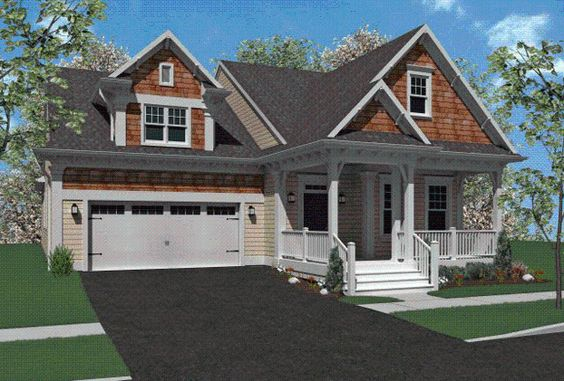 The Plymouth is a 2 bedroom, 2 bathroom home design available at Home Towne Square, a 55+ active adult community by Landmark Homes in Lancaster County, Pennsylvania.  #ownalandmark