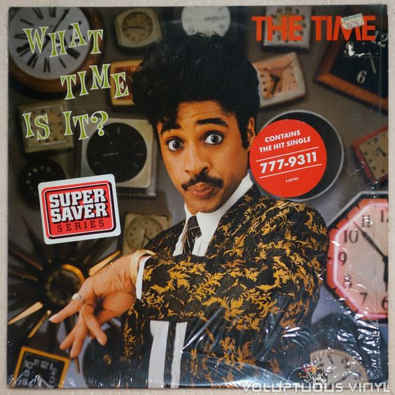 The Time – What Time Is It? (2nd album for the funk group put together by Prince.)