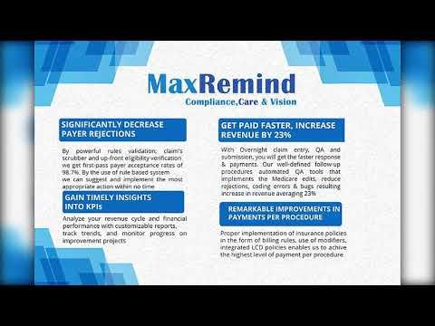 Maxremind Brochure Home Health Software Home Health Health