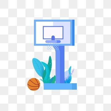 Flat Light Basketball Hoop Graphic Design Background Templates Clip Art Free Graphic Design