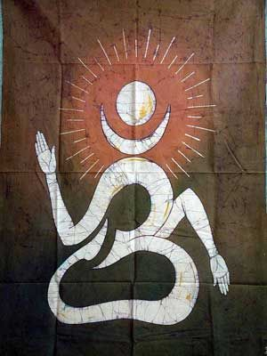 for e.g. Om Namoh Shivai and Om Mani Padme Hum.