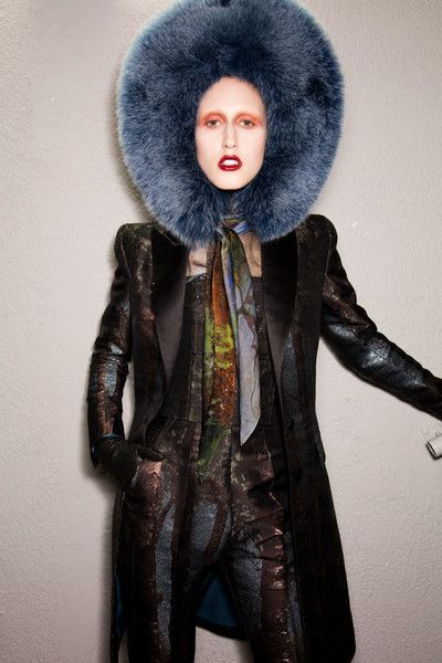 Jean Paul Gaultier Couture, Fall 2016 - Couture's Most Fabulous Backstage Photos - Photos
