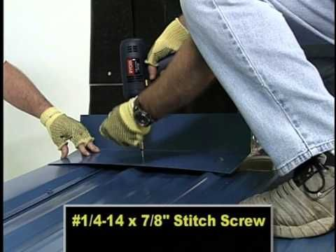89 Metal Sales Manufacturing Classic Rib And Pro Panel Ii Installation Youtube Sunroom Addition Installation Backyard Garage