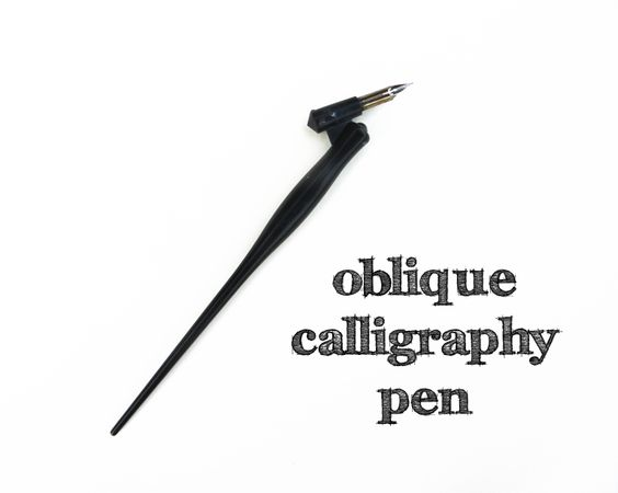 How to use an oblique calligraphy pen postman s knock