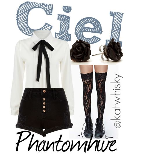 Ciel Phantomhive by katwhisky on Polyvore