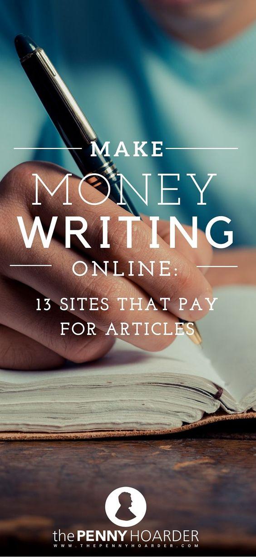 Writing paid