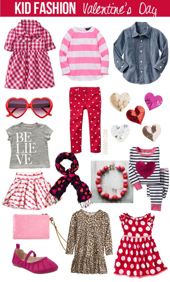 Kid Fashion - Valentines Day favorites: