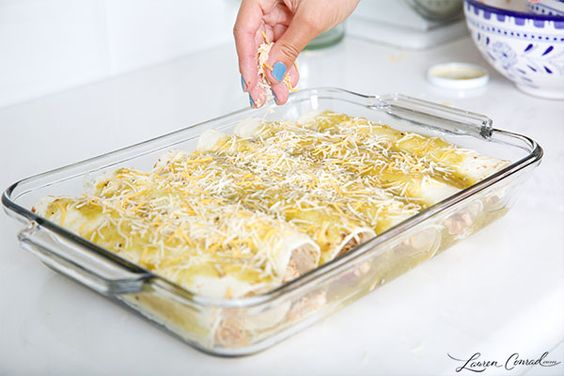 Lauren Conrad's Easy Chicken Enchiladas:
