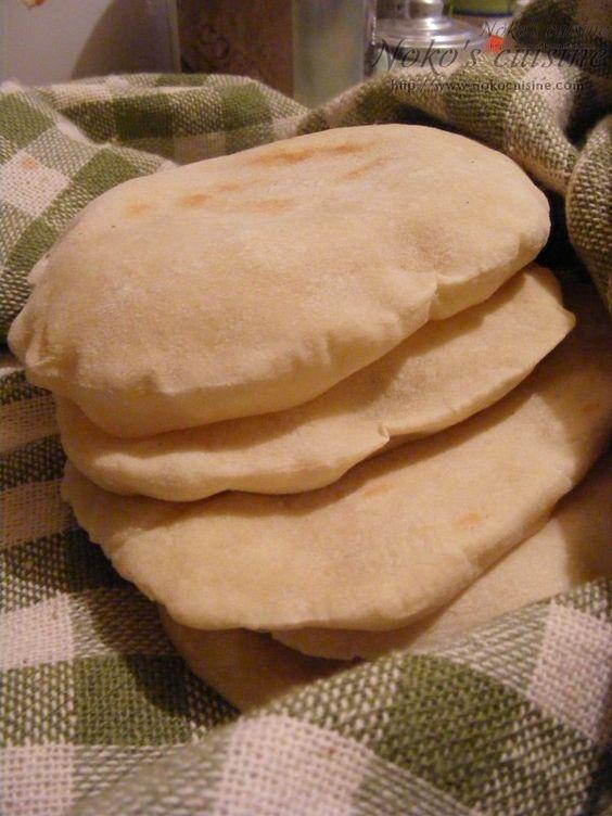 how to make lebanese pita bread