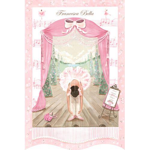 Prima Ballerina Recital Wall Hanging from PoshTots