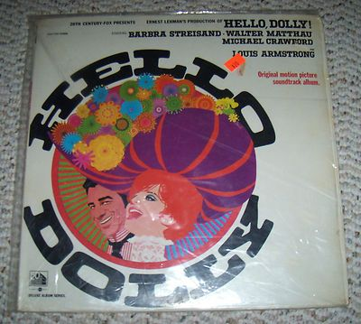 Hello Dolly,Barbra Streisand,Unopened,Factory Sealed,NEW,from 1969