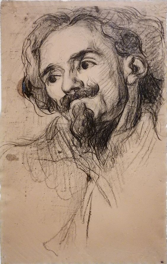 "CEZANNE,1867-70 - Portrait d'Achille Emperaire (drawing, dessin, disegno-Louvre RF31778) - 0 -  TAGS/art painter peintre details détail détails detalles ""French painters"" ""peintres français"" 19th 19e croquis étude study studies sketch sketches drawings dessins disegni  ""dessins 19e"" ""19th-century drawings"" Museum musée ""Paul Cézanne"" ""Paul Cezanne"" Cezanne Cézanne figures personnes people pose model portrait portraits face faces visage man men hommes hommage tribute"