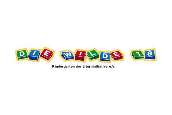 """Logo für den Kindergarten """"Die Wilde 18"""""""