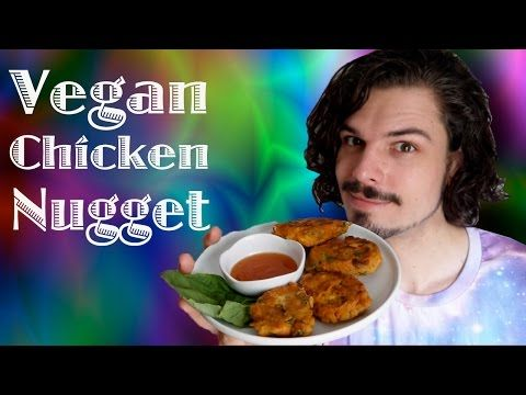 How to make a VEGAN Chicken Nugget: VKL episode 39 - YouTube